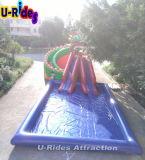 スライドが付いている屋外の膨脹可能な水公園