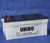 트럭 건전지 JIS 표준 N200 12V200ah는 비용이 부과된 Lead-Acid 자동 건전지를 말린다