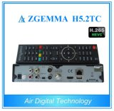 2017 새로운 최고 판매 HDTV 콤보 박스 Zgemma H5.2tc Bcm73625 리눅스 OS E2 DVB-S2+2*DVB-T2/C는 조율사 Hevc/H. 265를 가진 이중으로 한다