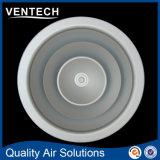 Diffuseur rond de ventilation d'air, diffuseurs en aluminium d'air de la CAHT de rond