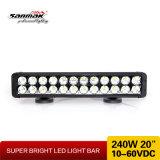Offroad LED 바 빛 20inch 240W 크리 사람 표시등 막대 4X4