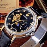 Un orologio dei 379 lussi per gli uomini impermeabilizza la vigilanza degli uomini meccanici