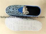 最新の子供の注入のズック靴の偶然の履物の靴(FFZL1031-01)
