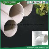 Pipe spiralée solide creuse de PVC pour le système de drainage