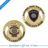 卸し売りOEMの記念品のカスタム挑戦警察は鋳造する
