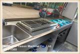 Coche de los alimentos de preparación rápida del acoplado del carro del alimento de la alta calidad Ys-Fv300