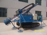 Plataforma de perforación montada correa eslabonada hidráulica llena del ancla para la construcción de la fundación