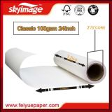 High Release 100GSM 610mm * 24 pouces Anti-Curl Heat Transfer Sublimation Paper