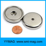 Magnete del POT dell'anello della fresatura di NdFeB con la vite Neodymium&Nbsp; Magneti
