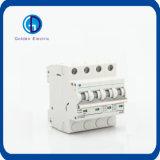 Zonne PV gelijkstroom 250V 500V 750V 800V 1000V 63A 4p MiniatuurStroomonderbreker MCB