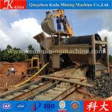 Máquina de la minería aurífera de la pantalla de la criba del oro