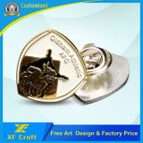 Prmotion (XF-BG37)를 위한 직업적인 도매 주문을 받아서 만들어진 연약한 사기질 금속 Pin 기장