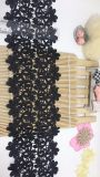 Het hete Borduurwerk die van de Polyester van het Kant van het Borduurwerk van de Breedte van Voorraad In het groot 13cm van de Fabriek Nylon Chemische Buitensporig Kant voor de Toebehoren van Kledingstukken & de Textiel & de Gordijnen van het Huis in orde maken
