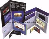"""Sola tarjeta del folleto de la paginación 4.3 """" 5 """" LCD con el sostenedor"""
