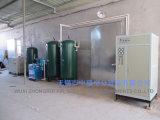 漏出ハンチングのための窒素の発電機