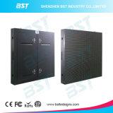 Consegna veloce P10 LED esterno di Bst che fa pubblicità alla video parete per la parte superiore di costruzione