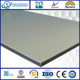 Panneau composé en aluminium avancé de matériau de construction d'aperçu gratuit