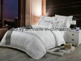 Ropa de cama llena del algodón de la alta calidad para el lecho del hotel