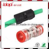 Conector recto de Microduct del HDPE, muestra libre, acoplador de Microduct del HDPE, conducto 12/8m m, hecho en China, precio moderado