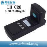 Draagbaar Chromium VI van de Meter van de Opsporing van de Kwaliteit van het Water Meter (links-CR6)