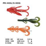 Pr-Hog/S-Hog passte künstlicher Köder-weichen Endlosschrauben-Fischen-Köder an