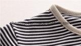 귀여운 남자 아기 옷 유아 소년의 장난꾸러기 낙하산 강하복 작업 바지 줄무늬 장난꾸러기 세트 Esg10169