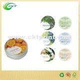Etiquetas de papel de lujo para las etiquetas de la ropa (CKT-LA-399)