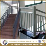 Cerca nova ao ar livre da escada do ferro feito do projeto