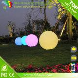 Bola accionada solar IP68 del resplandor del diámetro LED de 20, de 30, de 40, de 50, de los 60cm para la piscina o jardín