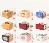 Kundenspezifische bunte Karton-Kasten-Tortenschachtel Nahrung