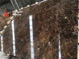 Mosaico de mármol oscuro oscuro de España Emperador Marron de la alta calidad de piedra natural y losas de mármol para el suelo y la pared