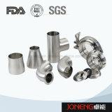 Encaixes de tubulação sanitária soldados da transformação de produtos alimentares do aço inoxidável (JN-FT2008)