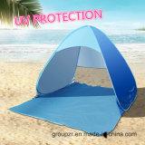 UV шатер пляжа доказательства хлопает вверх складчатость шатра легкая