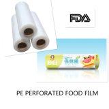 Le PE fait sur commande d'enveloppe de roulis de catégorie comestible de transparence de logo d'approvisionnement d'usine de qualité s'attachent film