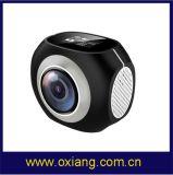 360程度4k上昇、Parkourおよびスキーのための小型HDのスポーツのデジタルビデオ・カメラの防水無線処置のカメラ