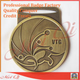 Изготовленный на заказ медаль сувенира Antique заливки формы покрынное бронзой