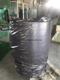Roulis de garniture de récurage de polyester de vert d'offre de constructeur de garniture de récurage