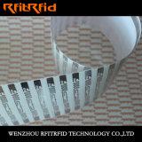 Escritura de la etiqueta de aluminio entera de la resistencia RFID del tolueno de la aguafuerte