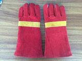 Китай 14 коровы Split кожи заварки дюйма перчаток работы с усиленной полной рангом Ab ладони