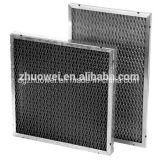 D'écran d'acier inoxydable de treillis métallique de bâti filtres à air en aluminium lavables pré