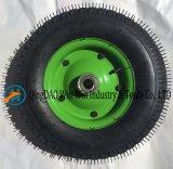 트롤리 (4.00-8/400-8)를 위한 압축 공기를 넣은 고무 바퀴