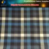 Ткань проверки Twill полиэфира покрашенная пряжей для Windbreaker/одежды