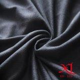 Tela suave del ante de la sensación del estiramiento del poliester para la ropa/la alineada