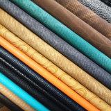 靴または袋(HS-M007)のためのよい伸縮性PUの革