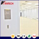 Telefono Handsfree Knzd-15c Kntech di schiarimento del telefono dell'acciaio inossidabile
