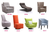 Установленная софа ткани комнаты домашней мебели самомоднейшая живущий (HC513)