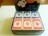 Пластичное Coated Playingcards с коробкой индикации