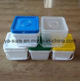 Пластмасовый контейнер горячего квадрата качества еды сбывания для мороженного 5L
