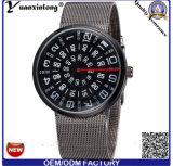 Yxl-355 형식 상표 시계 Paidu 스테인리스 메시 벨트 결박 Mens 손목 시계 다기능 석영 남자의 시계