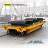 Losa de acero accionada cable de la plataforma que maneja el transportador